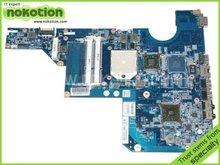 NOKOTION материнская плата для ноутбука HP G62 CQ62 серии 597674-001 DDR3 плата бесплатная доставка