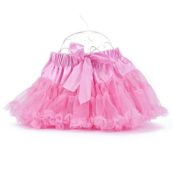Multi-List-Pettiskirt-Bow-knot-Girls-Dance-Tutu-Skirt-Solid-Color-KB0061-1