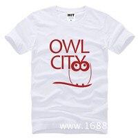 Rock band sowa miasta adam młodych męska koszulka t shirt dla mężczyzn 2015 nowy krótki rękaw bawełna casual top tee koszulki masculina