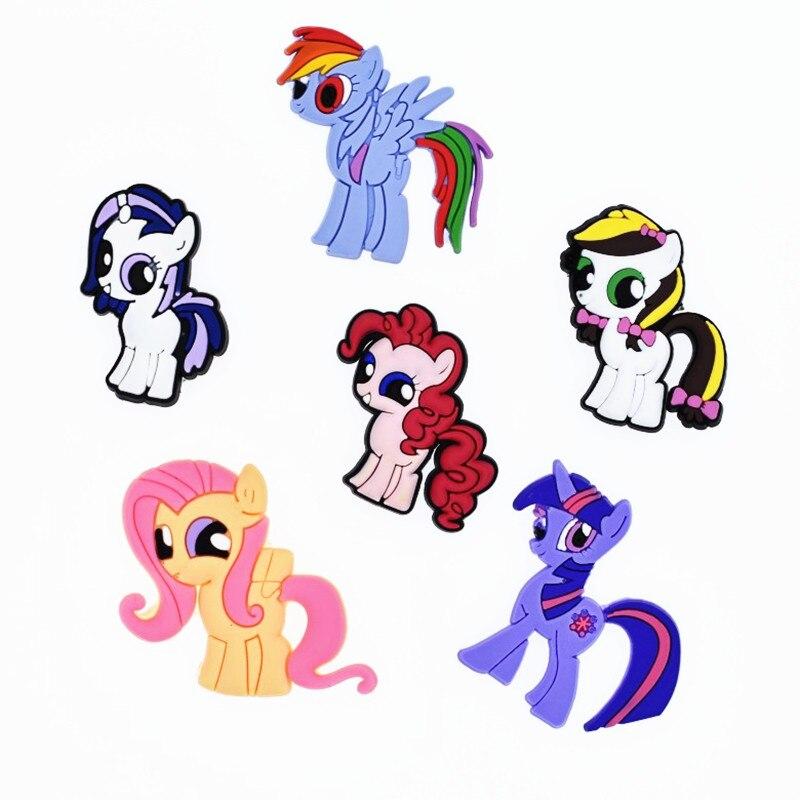 50pcs Lucu Kartun Saya Sedikit Kuda Unicorn Lembut Aksesoris Flat Belakang Pvc Gadget Anak Anak Kerajinan Dekorasi Diy Phone Case Pesona Charms Aliexpress