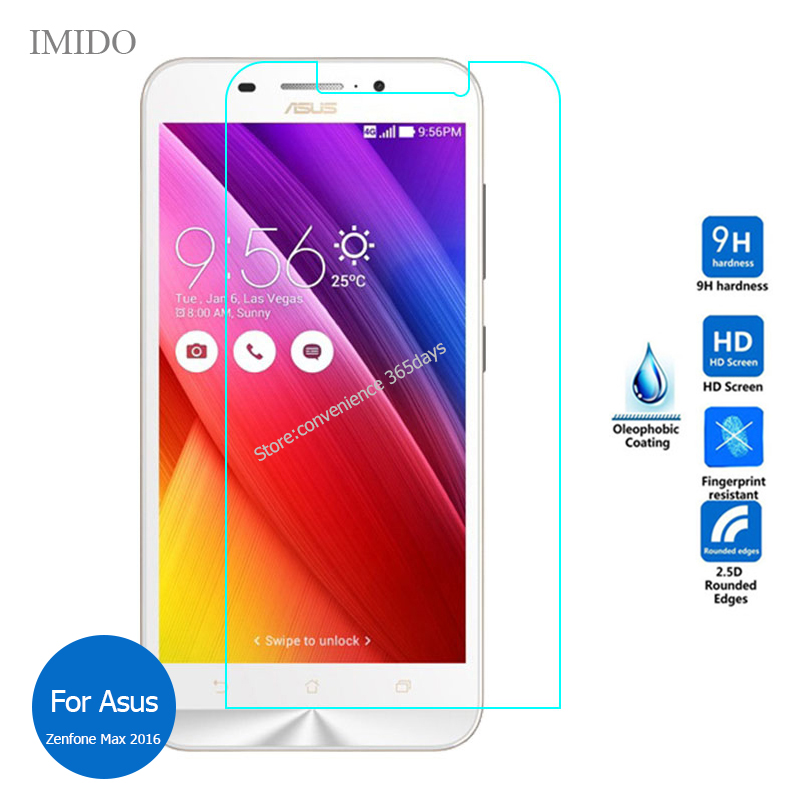 2PCS Tempered Glass For Asus Zenfone MAx 2016 Zc550KL Screen Protector 2.5 Safety Glass On <font><b>ZC</b></font> <font><b>550KL</b></font> ZC550 KL image
