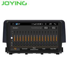 コアアンドロイド ギガバイト スクリーンラジオステレオヘッドユニットホンダシビック カーマルチメディアプレーヤー