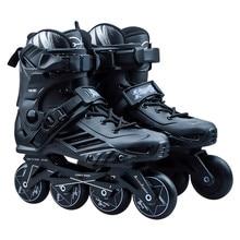 Оригинальные Стэнли Профессиональные роликовые коньки с колесами в ряд для взрослых детей слалом горка Фристайл Гонки бесплатно катание Bursh Street Patines P3