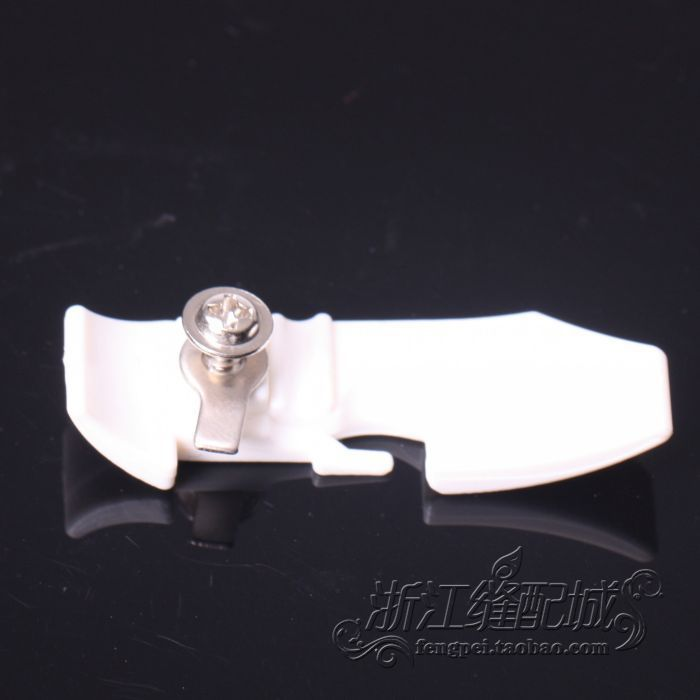 Industrial Sewing Machine Parts Sewing 737 SIRUBA plastic feed plate presser foot deck board floor
