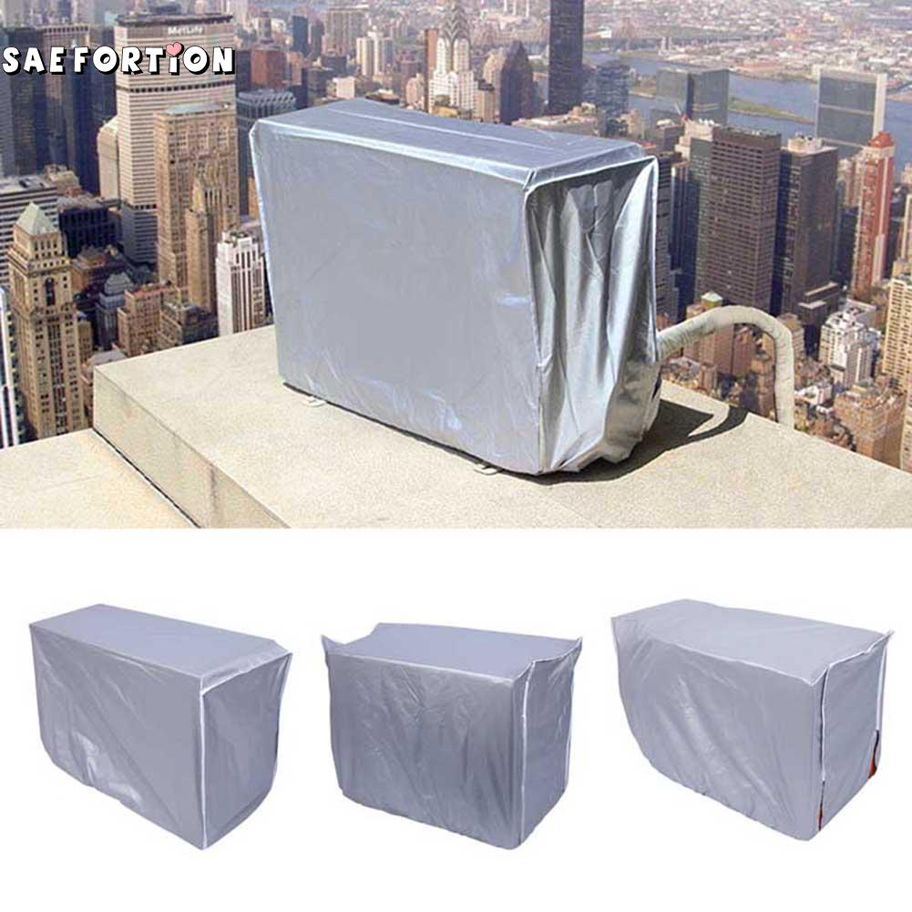 Outdoor Air Conditioner Waterproof Cleaning Cover For DIY Washing Household Cleaning Tools Waterproof Polyester Material SQC6450