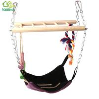 Pet Hammock Suspension Bridge With Ladder Hammock Hamster Hanging Climbing Toy Small Animal Pet Products Rest