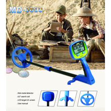 цена на MD-1010 Metal Detector High-Accuracy Metal Finder Waterproof Search Coil Hunt Treasure for Underwater Metal Detecting child toy