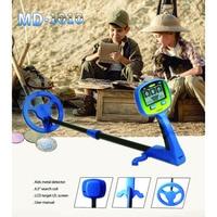 MD 1010 Metal Detector High Accuracy Metal Finder Waterproof Search Coil Hunt Treasure for Underwater Metal Detecting child toy
