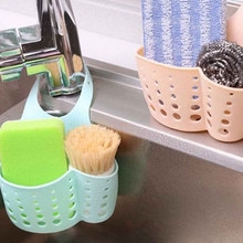 1 Piece Kitchen Portable Hanging Drain Basket Bath Storage Gadget Tools Sink Holder Drain shelf Kitchen Brush Sponge Sink