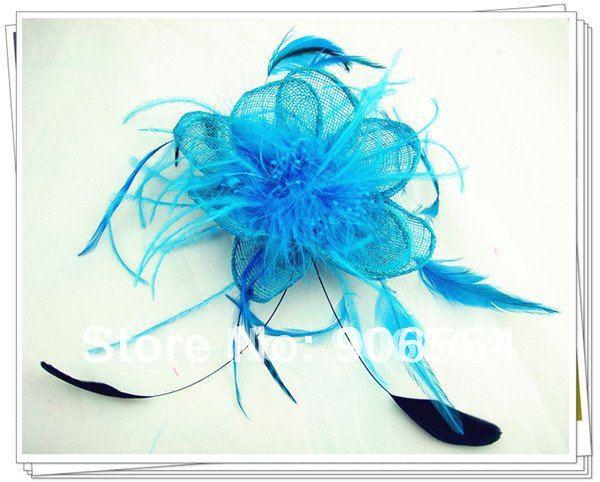 Шляпки из соломки синамей с вуалеткой хорошее Свадебные шляпы высокого качества Клубная кепка очень хорошее ; разные цвета на выбор, для MSF098
