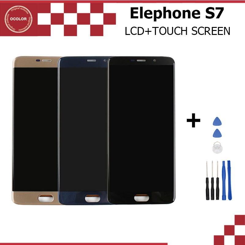 imágenes para Para Elephone S7 Pantalla LCD y Montaje de la Pantalla Táctil de Reparación Parte 5.5 Accesorios Para Elephone Móvil S7 + Herramientas Gratuitas gratis