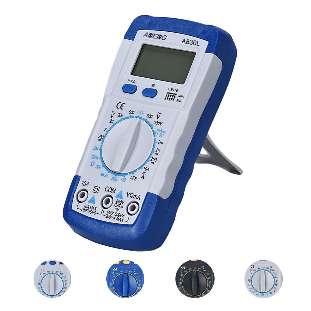 Prix pour 1 PC LCD Numérique Multimètre Ampèremètre Voltmètre Ohmmètre Testeur de Courant