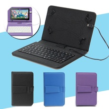 Universal 7inch PU Leather Keyboard Case Cover Stand For Andriod Phone Tablet New Tablet Keyboard Cover Case For Samsung