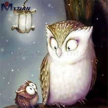 DIY Diamond Painting Kit Full Drill Owls