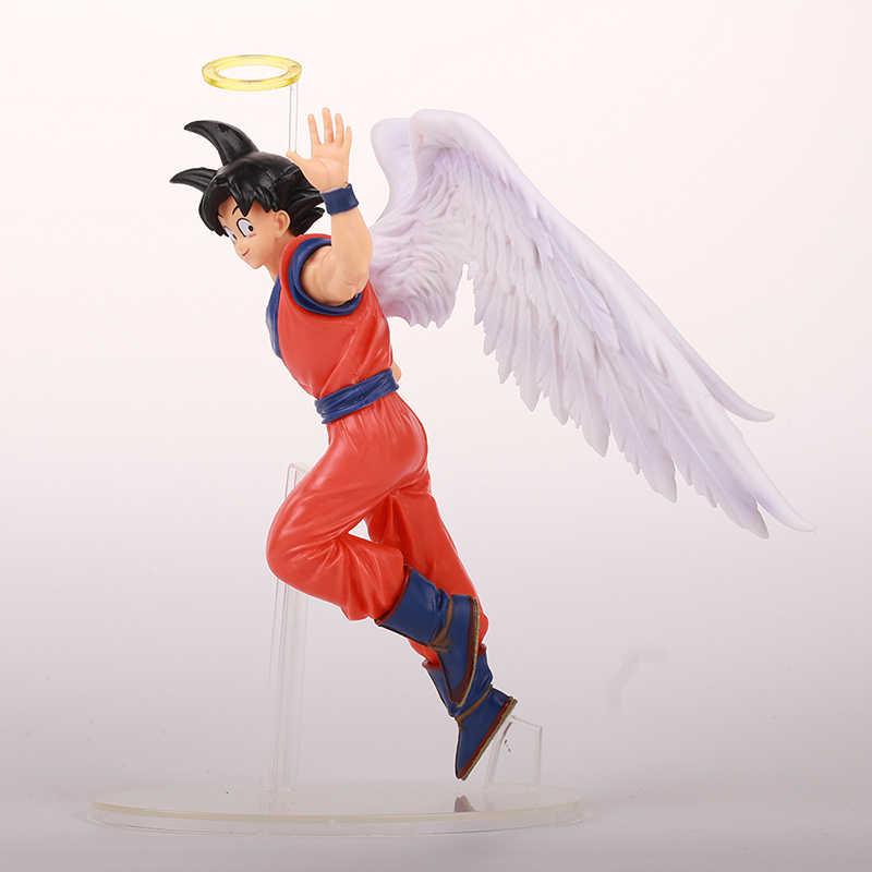 Huong anime figura 16 cm dragon ball filho goku anjo. ver dragonball kakarott pvc figura de ação collectible modelo brinquedos bonecas