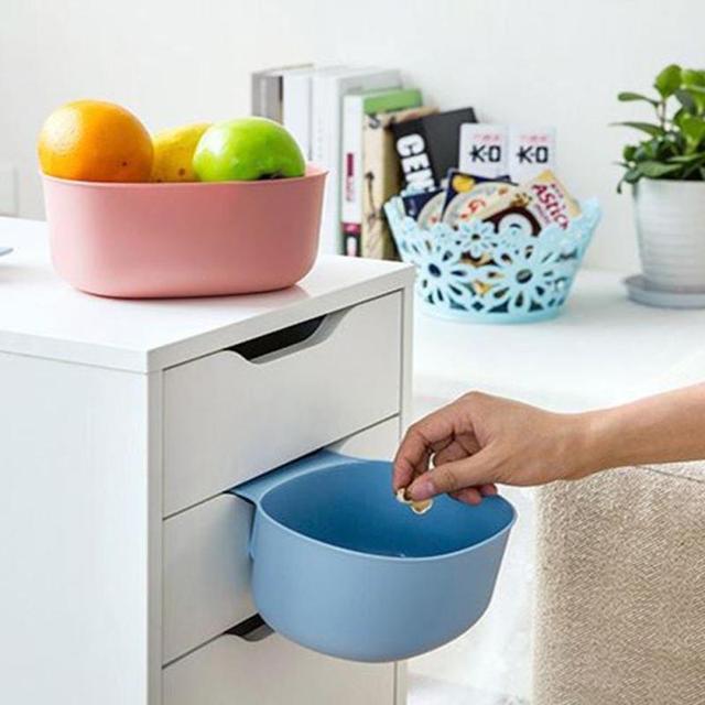 1 pc Nette Home Küche Schrank Mülleimer Lagerung Box Organisatoren ...