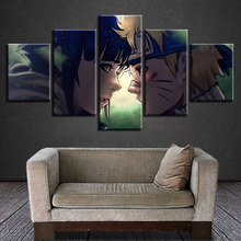 Printed Pictures Home Wall Art Modular Poster 5 Panel Animation Naruto Painting On Modern Canvas Living Room Decorative Framed