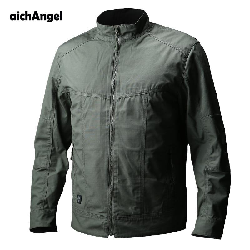 Impermeable Táctico Piloto Abrigo Swat Black green Primavera Chaqueta Combate Casual khaki Chaquetas Otoño Hombres Militar gtqSrt