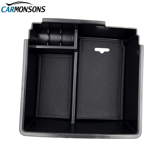 Car Organizer for Ford Ranger 2015-2017 Console Central Armrest Storage Box Container Holder Tray Accessories Car Styling