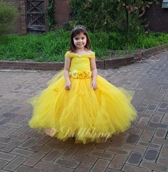 2017 tulle baby cinderella flower girl wedding dress fluffy ball gown USA 1st birthday evening prom pink tutu party dress