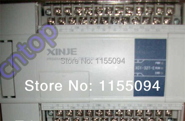 XC1-32T-E XINJE XC1 Series PLC AC220V DI 16 DO 16 Transistor new in box xc3 48rt e xinje xc3 series plc ac220v di 28 do 20 relay transistor mixed output new in box