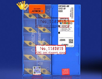 10/ box  Carbide insert  VCMT160408 HMP NC3030 Lathe Cutting Tools CNC blade alloy carbide cutting tool Turning Inserts