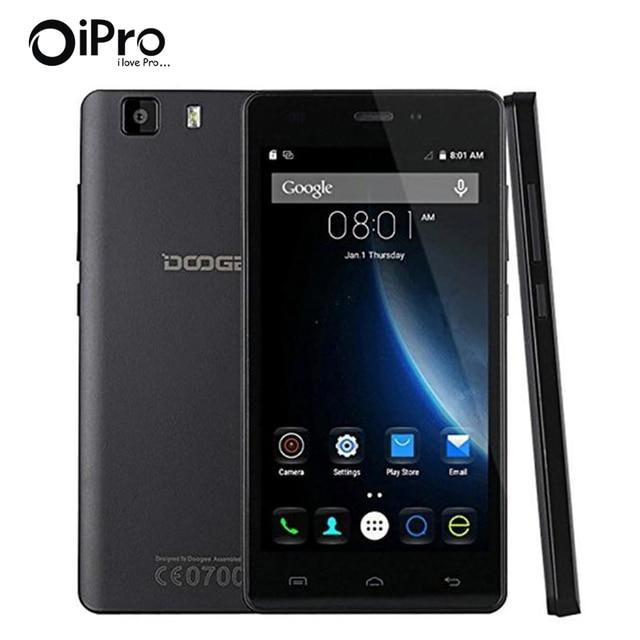 """Doogee X5 Pro 5.0 """"HD IPS MT6580 Quad Core Android 5.1 Русский Язык Смартфон Celular 4 Г FDD LTE Разблокирована Сотовый Мобильный Телефон"""