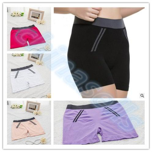 1pcs Women Sports Pantalon Yoga shorts Elastic Compression Tights Fitness Running Trousers Workout Gym Leggings Pants shorts