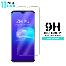 10 Pcs Tempered Glass For BLU G9 Screen Protector 2.5D 9H Premium Protective Film