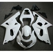 Motorcycle Unpainted Fairing Kit For Suzuki GSXR 600 750 K1 2001 - 2003 2002 GSXR600 GSXR750 01 - 03 Injection Molding Fairings(China)