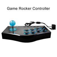 Arcade Game Joystick USB Rocker Controller for PS2/PS3/Xbox PC TV Box Laptop Multifunctional
