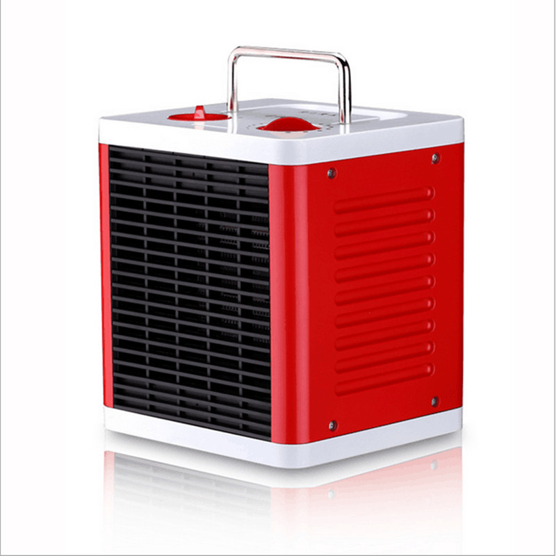 220 V Mini Portable muet 3 vitesses électrique ventilateur chauffage électrique ventilateur 3 S chauffage rapide PTC Cube forme électrique réchauffeur