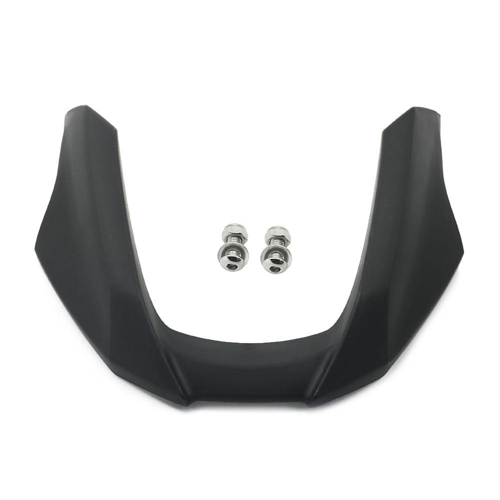Black Motorcycle Front Fender Beak Extension Wheel Cover For BMW R1200GS 2008-2012 R 1200 GS 2009 2010 2011