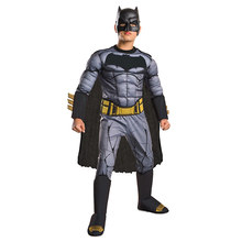 Dawn Of Justice Boys Cool Deluxe Muscle Batman Child DC Movie Cosplay Superhero Halloween Costume(China)
