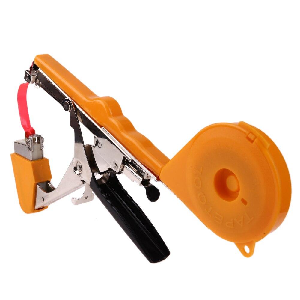 Завод связывая Tapetool инструмент для подвязки ветвей филиал рук обвязка, брошюровка сад инструмент Растительные трава Tapetool Tapener стволовых обвязки
