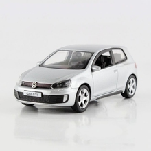 Freeshipping Children UNI FORTUNE Volkswagen Golf GTI Model Car 1 36 5inch Diecast Metal Cars Toy
