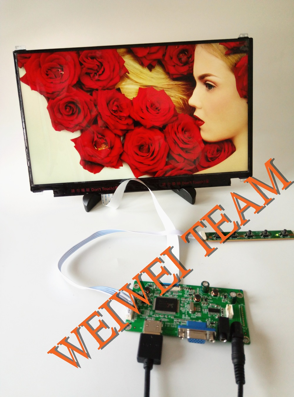 13.3 inch 1920x1080 IPS Screen Display HDMI Driver Board LCD Panel Module Monitor Laptop PC Raspberry Pi 3 Car diy project PS4  13.3 inch 1920x1080 IPS Screen Display HDMI Driver Board LCD Panel Module Monitor Laptop PC Raspberry Pi 3 Car diy project PS4