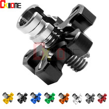 Aluminum Clutch Cable Wire Adjuster Adjustment Screw Motorcycle For Suzuki GSXR1000 K1-L4 GSXR1100 WP-WT