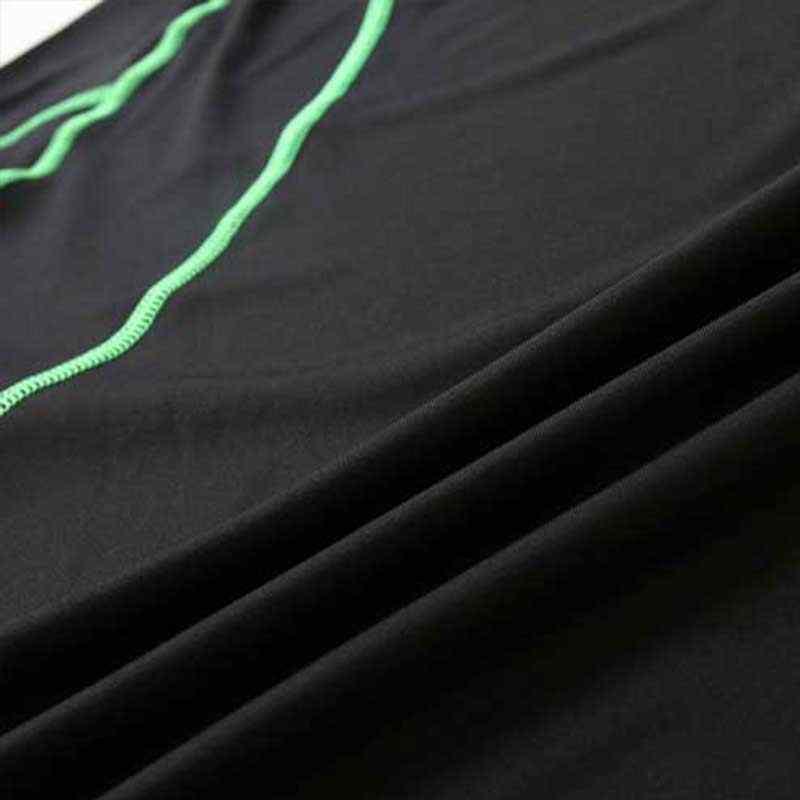 Для мужчин про тренажерный зал Фитнес сжатия Наборы для ухода за кожей быстросохнущая Капри Леггинсы + топ тренировки поезд упражнения Спорт Кальсоны Йоги + Рубашки для мальчиков Run Йога 3242