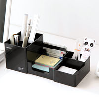High Quality Simple Desktop Shelves Storage Box Desk Decor Stationery Makeup Cosmetic Organizer For Jewelry Stationery