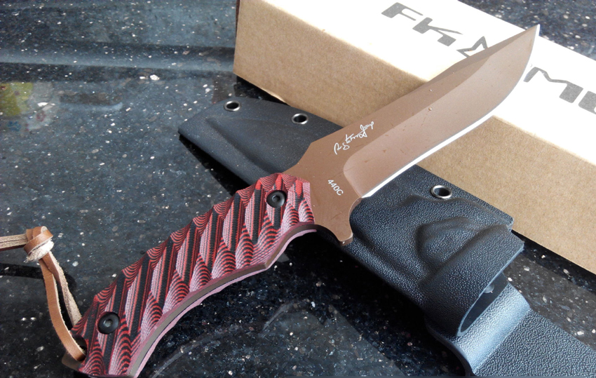 High Quality Red Hunting Knife Survival Knives Fixed Blade Camping Straight Knife K Sheath Red G10 Handle width 3.3 cm 729#  цены
