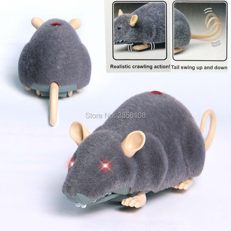 brinquedo do gato controle remoto infravermelho mouse 2ch simulacao de controle remoto pelucia mouseelectronic rc ratos