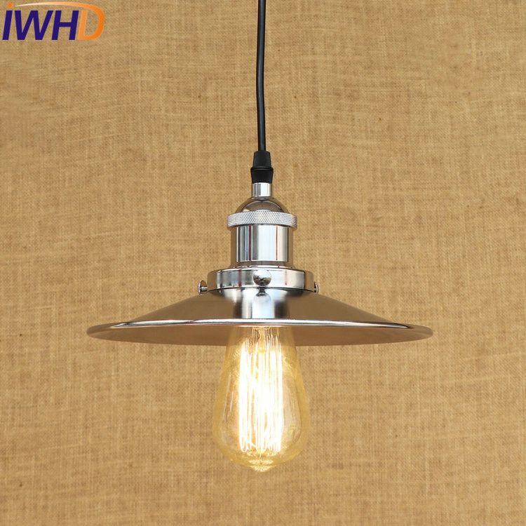 IWHD Loft Style Iron Retro Droplight Edison Industrial Vintage Pendant Light Fixtures For Dining Room Hanging Lamp Lamparas antique loft style iron droplight industrial wind vintage pendant light fixtures dining room hanging lamp lamparas colgantes