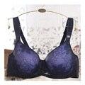 Cacique Big Breasted Mulheres Sexy Minimizador Cobertura Total Sutiã Plus Size Sutiãs de Renda Para As Mulheres