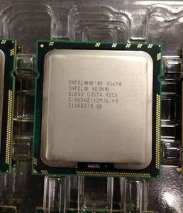 Image 3 - Intel processador xeon x5690, processador de 3.46ghz 6. 4gt/s 12mb, 6 core, 1333mhz slbvx