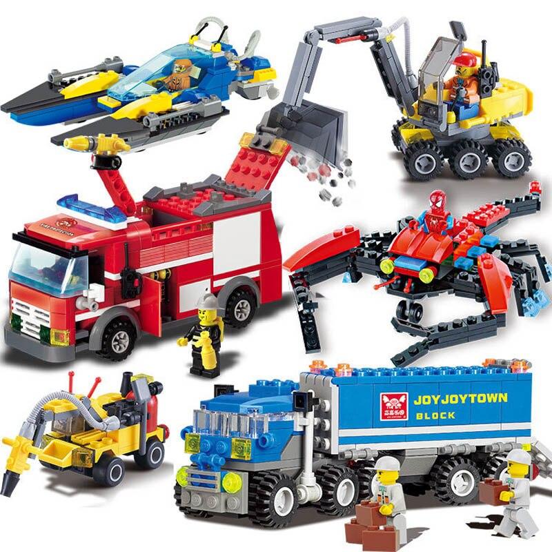 City Construction Excavator Building Block sets Compatible all brand City Toys Brinquedos Educational Bricks Gift