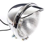 12 В Универсальный Двигатель цикл 25 Светодиодные фары head lamp ХРОМ Двигатель велосипед противоударный Водонепроницаемый фары Двигатель свет