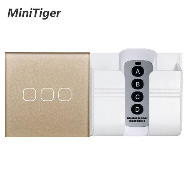 Minitiger Eu  Uk Standard 1  2  3 Gang Wireless Remote