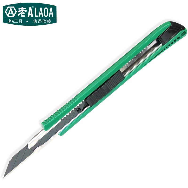 LAOA Высококачественная брендовая одежда утилита Ножи, 10 шт. запасные лезвия студентов Ножи электрика инструменты посылка 1, посылка 2, посылка 3