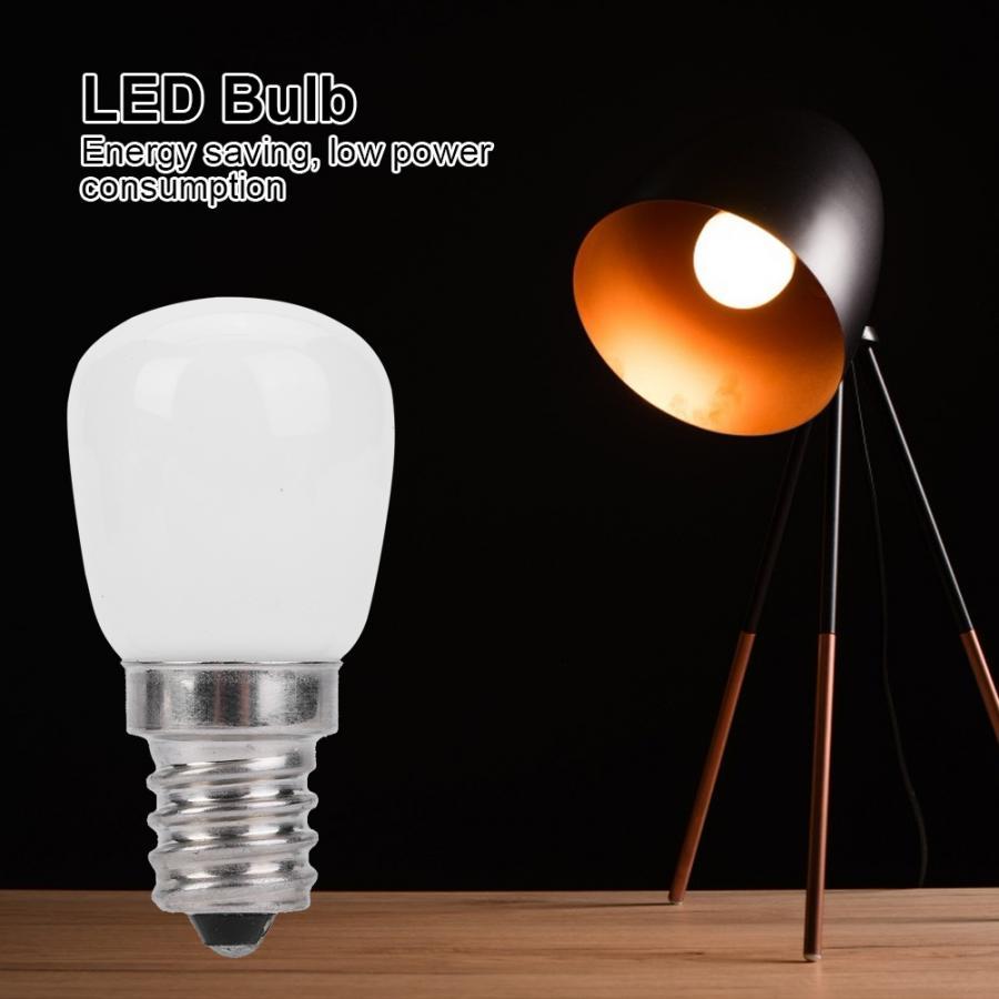 E12 LED Lamp 2W Refrigerator Microwave Oven Kitchen Ventilator Lighting Bulb LED Lighting Lamp LED Lighting Bulb in LED Bulbs Tubes from Lights Lighting